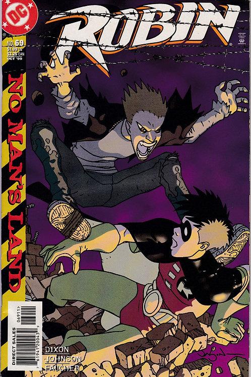 ROBIN 69 Marvel Oct 99 Batman No Man's Land