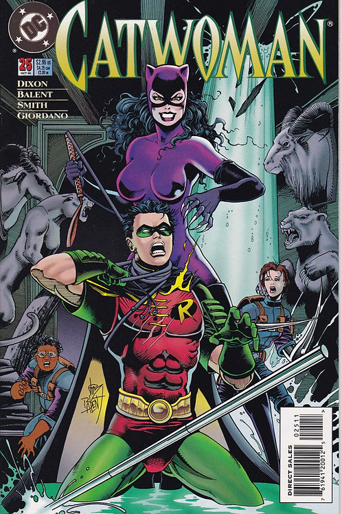 Catwoman 25 Robin Appearance