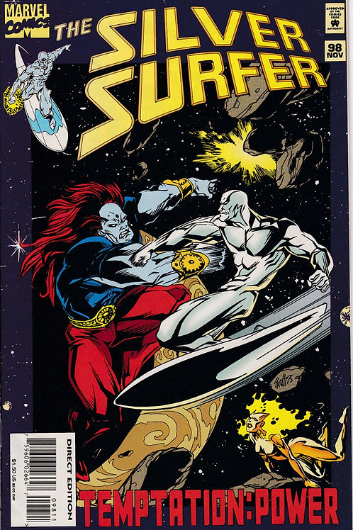 Silver Surfer 98 Nova & Drax Guest Star