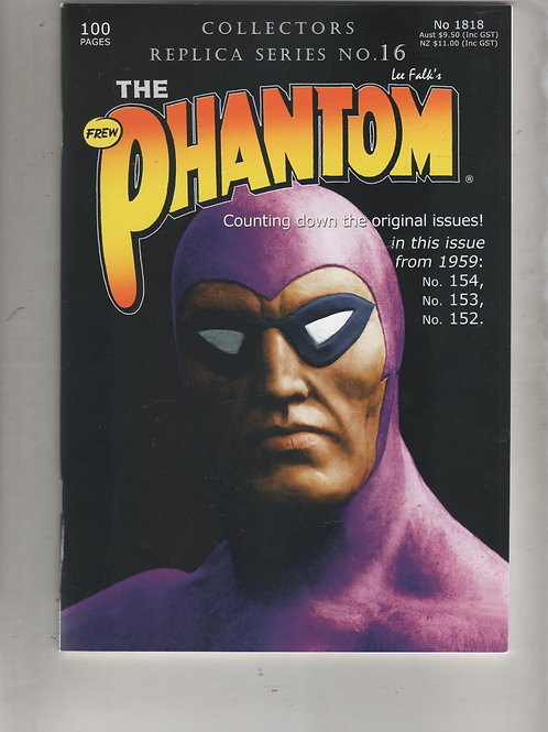 PHANTOM 1818 Collectors Replica Series 16 100 pages