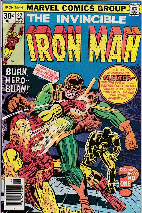 Iron Man 92 Verses Melter