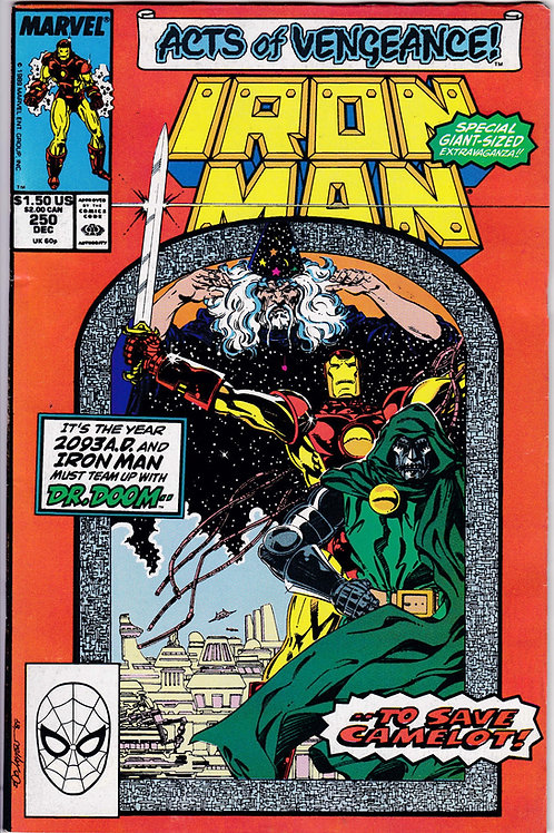 Iron Man 250 Dr Doom Cover Story Giant Issue
