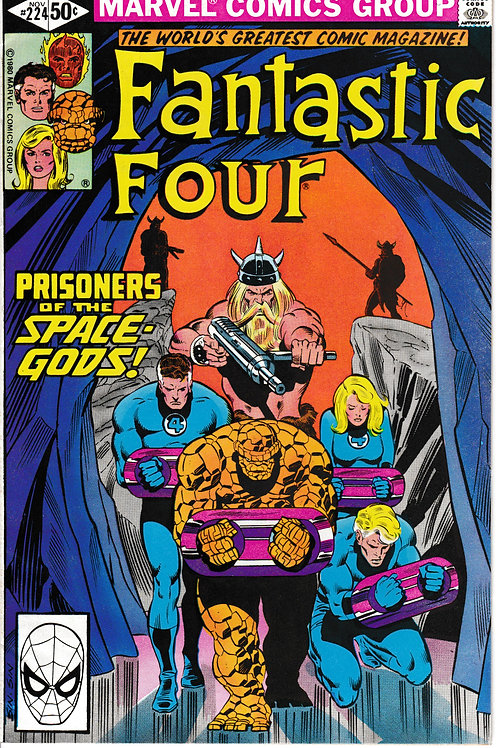 FANTASTIC FOUR 224 Nov 80 Pin-Up Page