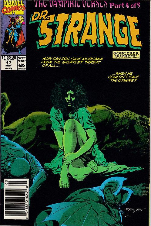 DOCTOR STRANGE SORCERER SUPREME 17 Marvel May 90 Vampiric Verses Pt 4