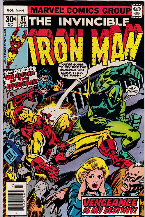 Iron Man 97 Showdown with the Guardsman