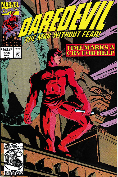 DAREDEVIL 304 May 92 Thirty-Four Hours