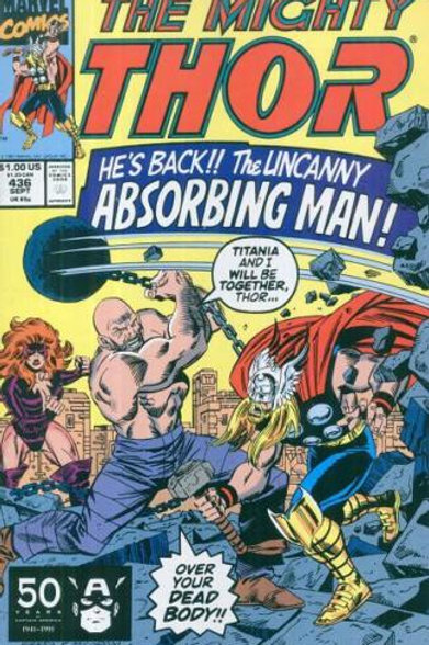 THOR 436 Sep 91 Savage Reunion
