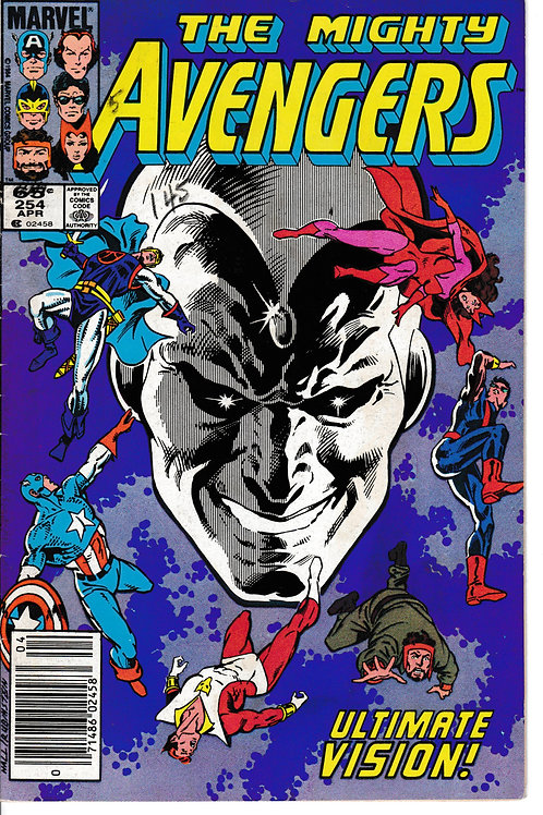 AVENGERS 254 West Coast Avengers Appearance