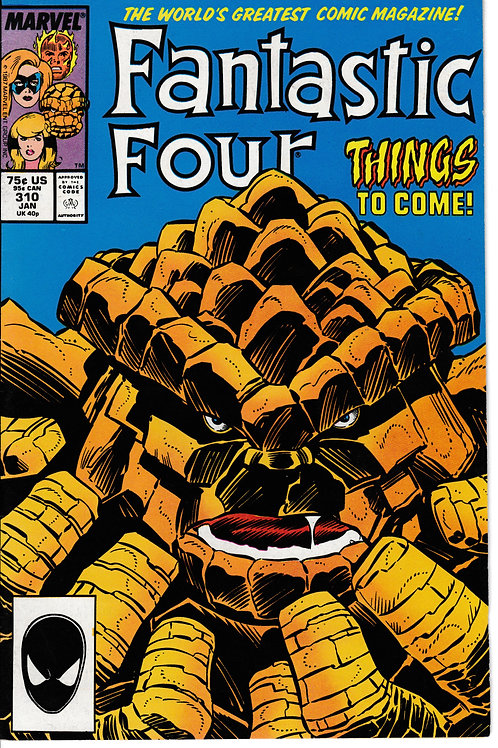 FANTASTIC FOUR 310 Jan 88 Marvel 1st Mutated Thing