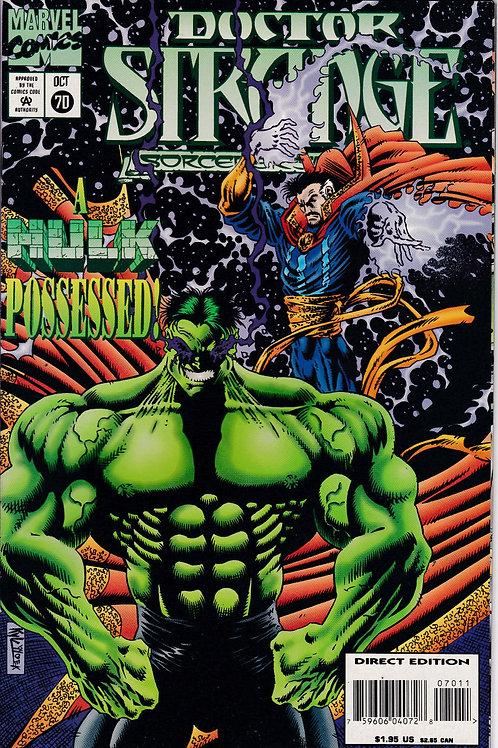 DOCTOR STRANGE SORCERER SUPREME 70 Marvel Oct 94 Incredible Hulk