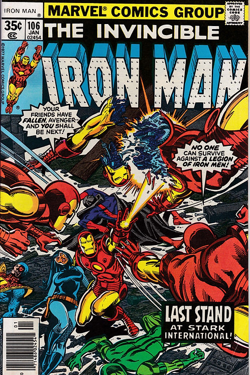 Iron Man 106 Guest Stars Jack of Hearts