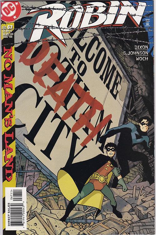 ROBIN 67 Marvel Aug 99 Batman No Man's Land