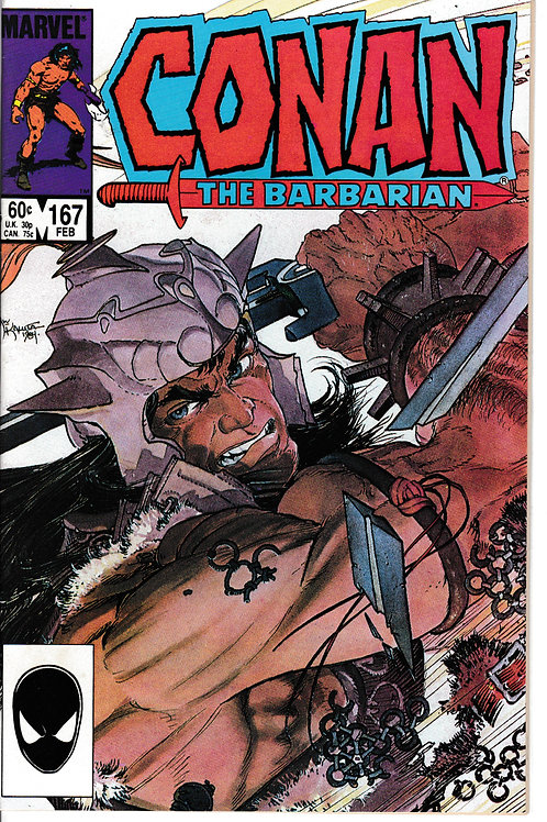 CONAN THE BARBARIAN 167 Feb 85 Creatures From Time's Dawn