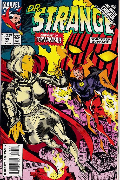 DOCTOR STRANGE SORCERER SUPREME 55 Marvel Jul 93  Infinity Crusade X-Over