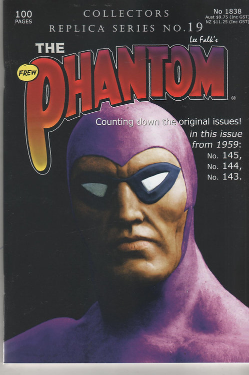 PHANTOM 1838 Collectors Replica Series 19 143 144 145