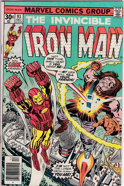 Iron Man 93 Kraken Kills