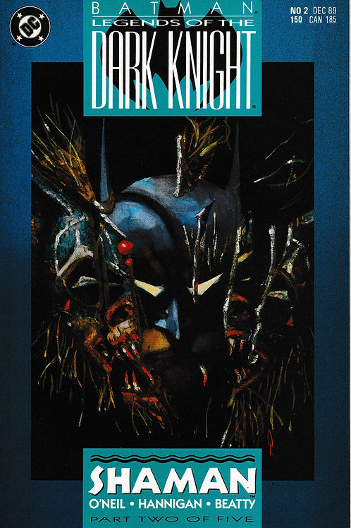 BATMAN LEGENDS OF THE DARK KNIGHT 2 Dec 89 Shaman Part 2 of 5