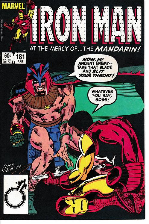 IRON MAN 181 Apr 84 Appearances Tony Stark & Radioactive Man