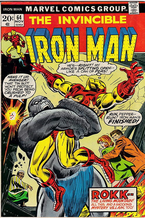 Iron Man 64 Nov 73 Doctor Spectrum Appearance