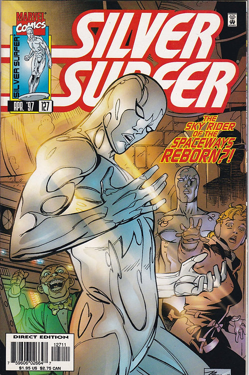 SILVER SURFER 127 Vol 3 Apr 97 Never Read New Old Stock Puppets Part 1 of 2