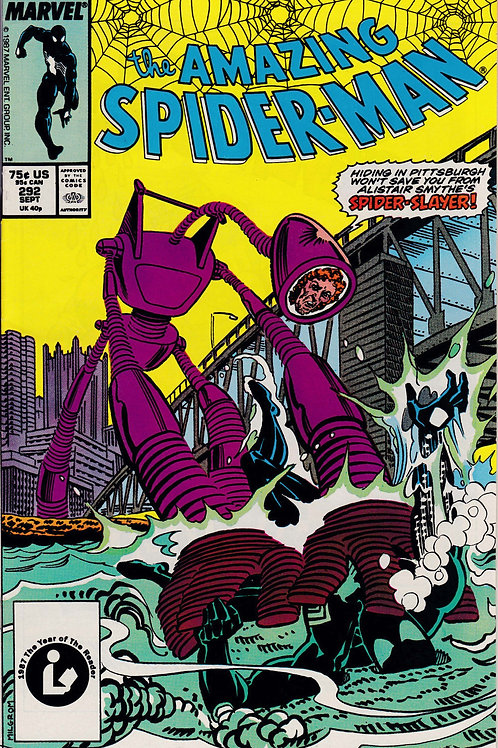 AMAZING SPIDER-MAN 292 Sept 87  Mary Jane Accepts Peter's Proposal