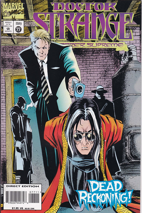 DOCTOR STRANGE SORCERER SUPREME 77 Marvel May 95