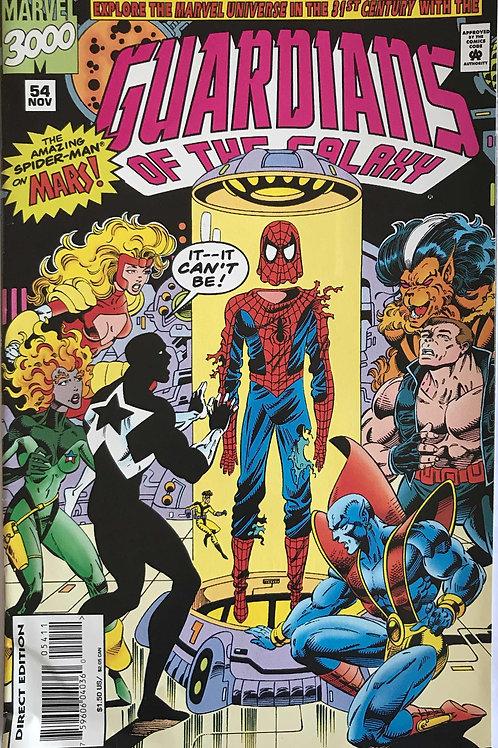 GUARDIANS OF THE GALAXY 54 Marvel Vol 1 Nov 94  Spiders of Mars