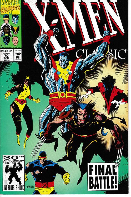 X-Men Classic 70 Direct Edition Chris Claremont Script