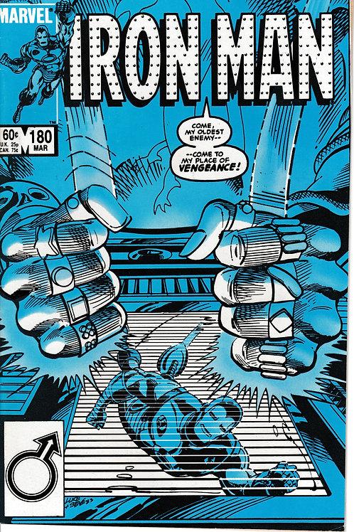 IRON MAN 180 Mar 84 Appearances Tony Stark & Radioactive Man