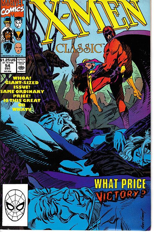 X-Men Classic 54 Dec 90 Chris Claremont Script Giant Sized Issue
