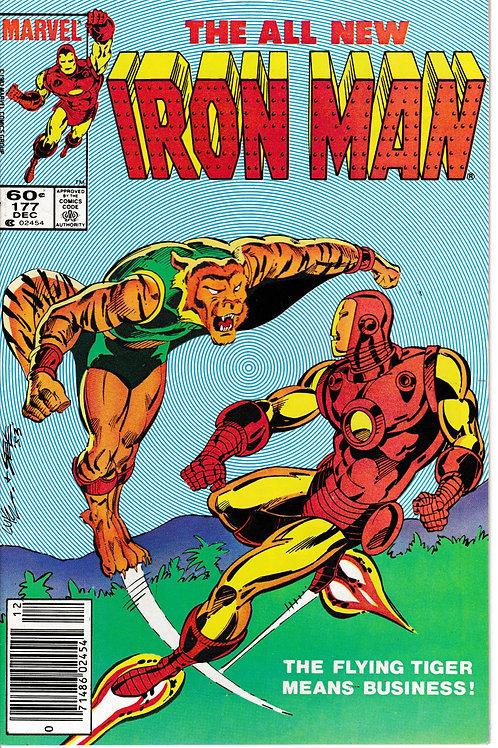 IRON MAN 177 Dec 83 Cameo Appearance Power Man (aka Luke Cage)