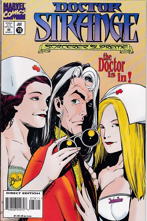 DOCTOR STRANGE SORCERER SUPREME 78 Marvel Jul 95