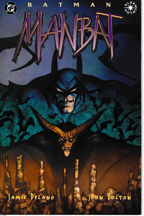 BATMAN MANBAT BK 3 OF 3 DC 1995 Elseworlds