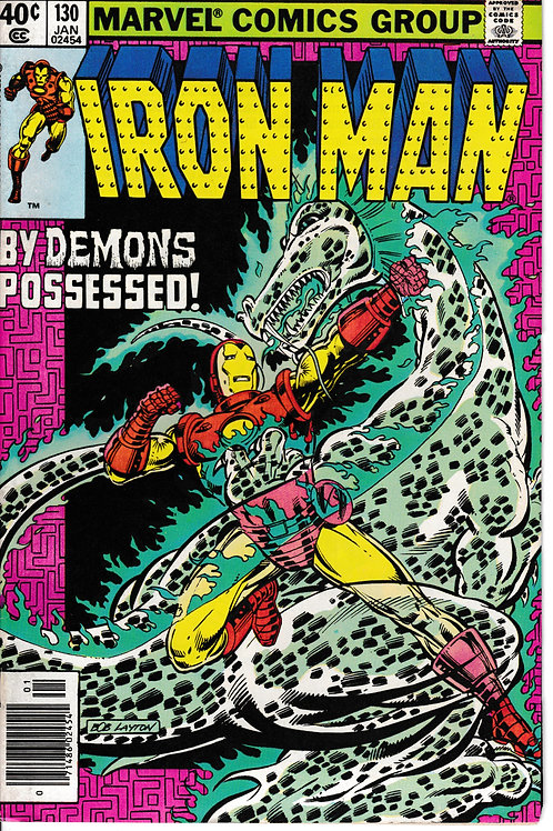 IRON MAN 130 Jan 80 The Digital Devil