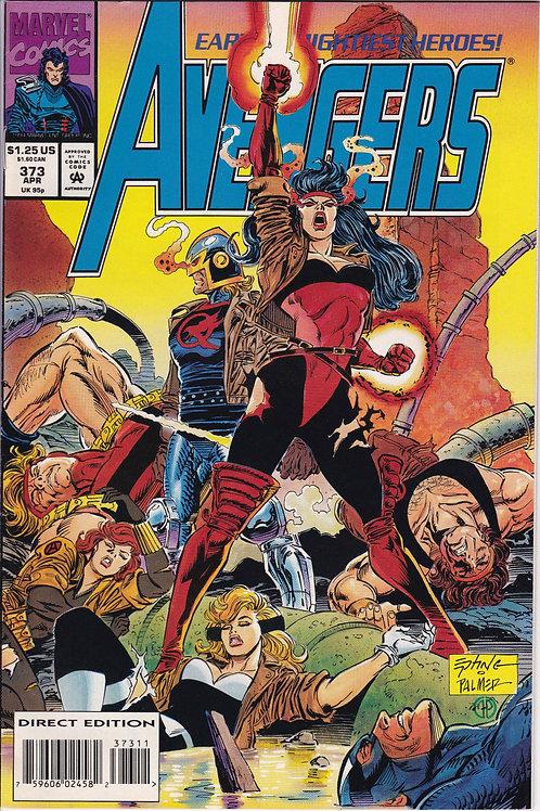 AVENGERS 373 Marvel Vol 1 Apr 94  First app of (gold) Jocasta