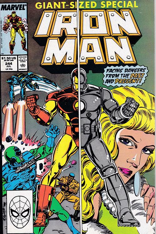 Iron Man 244 New Armour Iron Man Walks