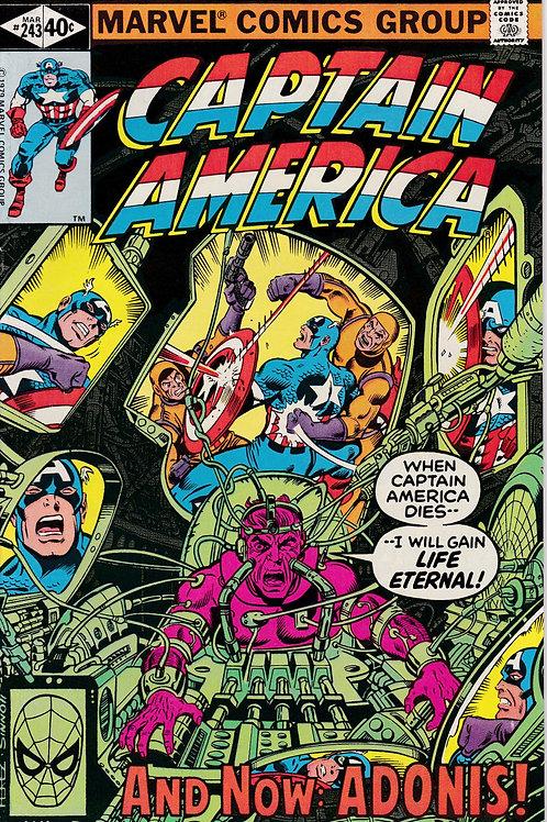 Captain America 243 Lazarus Conspiracy Part 1 of 2