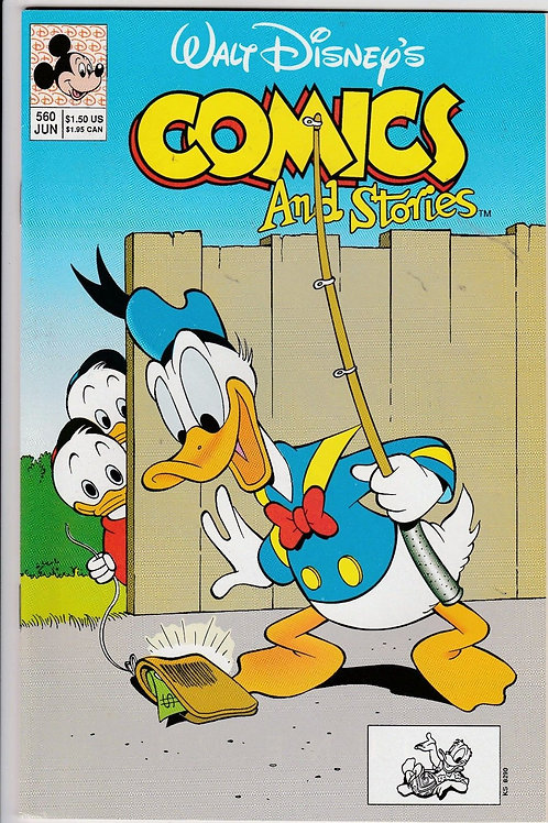Walt Disney's Comics & Stories 560