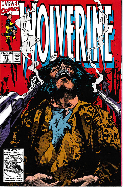 WOLVERINE 66 Feb 93 New Old Stock Part 1 of 3 Valley O' Death X-Men Cameo