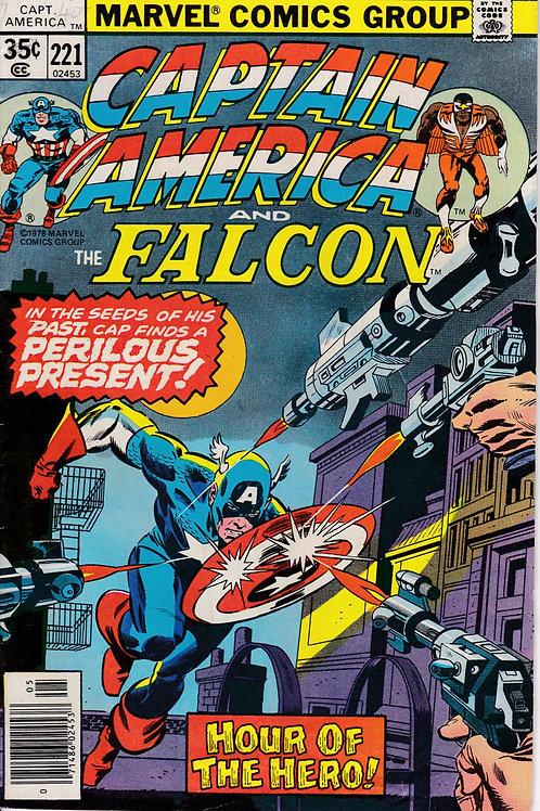 Captain America 221 Sal Buscema Pencils