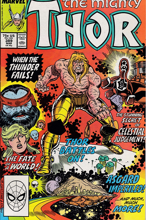 THOR 389 Alone Against the Celestials
