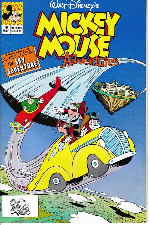 MICKEY MOUSE ADVENTURES 10 Mar 91 The Sky Adventure