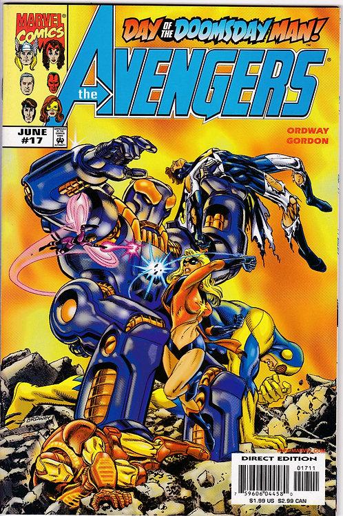 AVENGERS 17 Vol 3 Marvel June 99 N/M Photon Black Knight