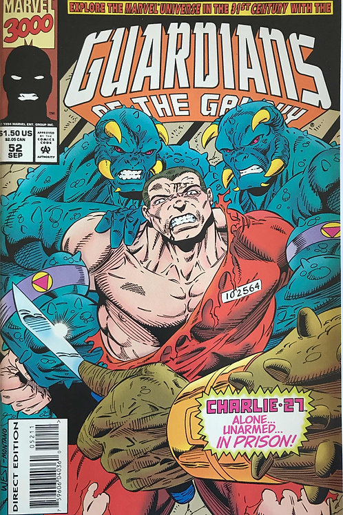 GUARDIANS OF THE GALAXY 52 Marvel Vol 1 Sept 94 Return of Drax
