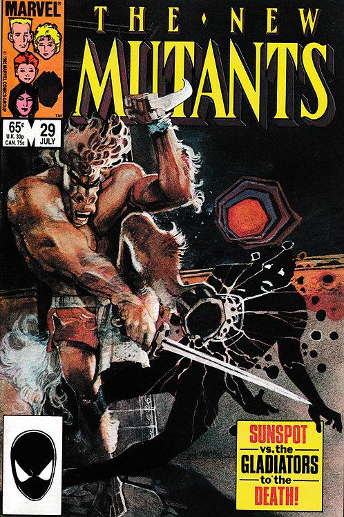 NEW MUTANTS 29 Marvel Jun 85 Claremont Sienkiewicz