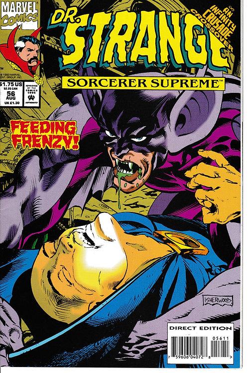 DOCTOR STRANGE SORCERER SUPREME 56 Marvel Aug 93 Infinity Crusade X-Over