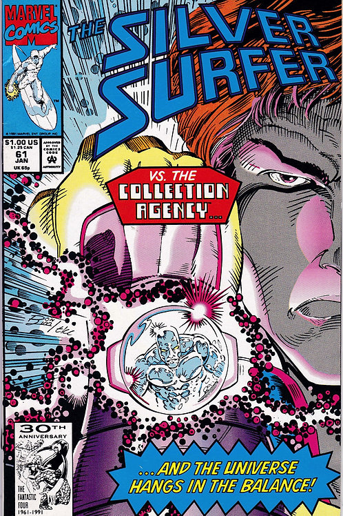 Silver Surfer 61 Collector Appearance