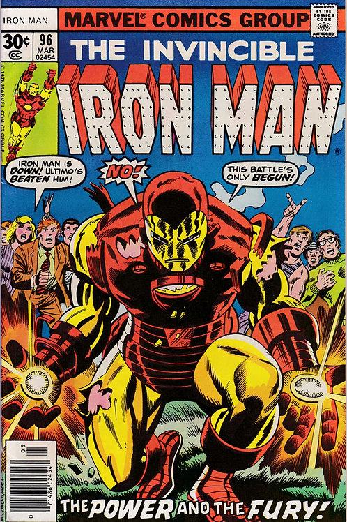 Iron Man 96 1st App New Guardsman
