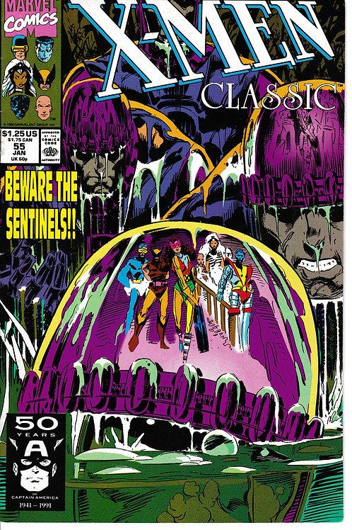 X-Men Classic 55 Chris Claremont White Queen & Storm