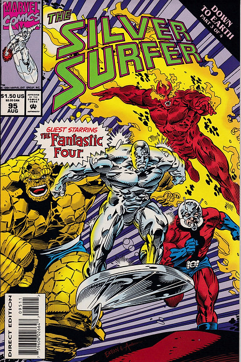 Silver Surfer 95 Fantastic Four Appearance